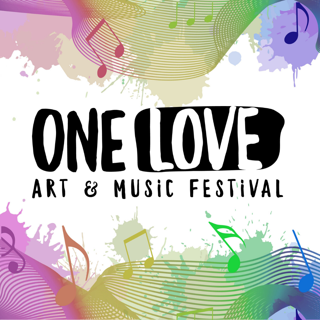 one love art and music festival logo